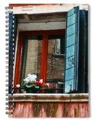 Window Of Venice Spiral Notebook