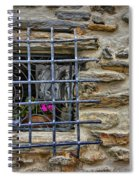 Window Of Vernazza Italy Dsc02629 Spiral Notebook