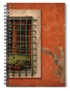 Window Of Vernazza Italy Dsc02633 Spiral Notebook