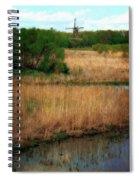 Window On The Waterfront Dezwaan Windmill Spiral Notebook