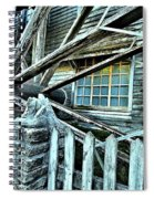 Window On The Wheel Spiral Notebook