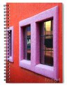 Window Reflections 2 Spiral Notebook