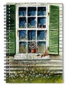Window Reflections Spiral Notebook