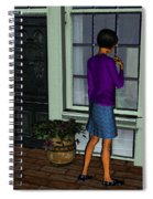 Window Shopper Spiral Notebook
