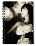 Window Shopping At Night Spiral Notebook