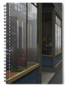 Window Shopping Spiral Notebook
