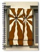 Window Shutter 3 Spiral Notebook