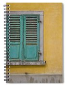 Window Shutter Spiral Notebook
