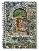 Window To A Bygone Heritage Spiral Notebook
