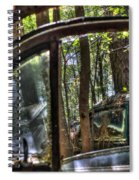 Window To A Window Via Tree Spiral Notebook