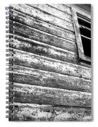 Window To Another Era Spiral Notebook