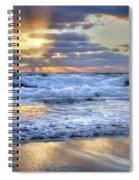 Window To Heaven Spiral Notebook