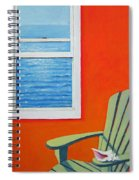 Window To The Sea No. 1 - Seashell Spiral Notebook