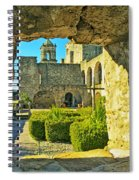 Window View Of Mission Spiral Notebook