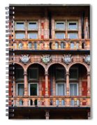Windows And Arches Spiral Notebook