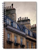 Windows And Chimneys Spiral Notebook