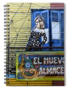 Windows And Doors Buenos Aires 17 Spiral Notebook
