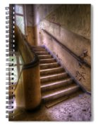 Windows And Stairs Spiral Notebook