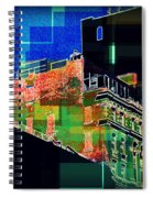 Windows And Watertower Spiral Notebook