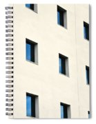 Windows In An Office Building Spiral Notebook