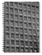 Windows In Black And White Spiral Notebook