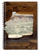 Windows In Chaco Spiral Notebook
