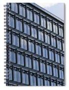 Windows In Copenhagen Spiral Notebook