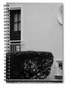 Windows In The Round In Black And White Spiral Notebook