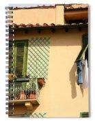 Windows, Italy Spiral Notebook