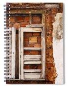 Windows Of Alcantara Brazil 1 Spiral Notebook