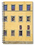 Windows Of Florence Spiral Notebook