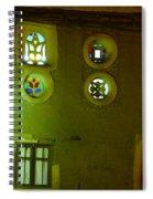 Windows Of Sanaa Spiral Notebook