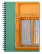 Windows Of The World - Santiago Chile Spiral Notebook