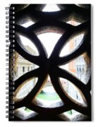 Windows Of Venice View From Palazzo Ducale Spiral Notebook