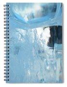 Windows On Winter Spiral Notebook