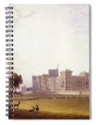Windsor Castle From The South End Spiral Notebook