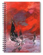 Windsurf Impression 02 Spiral Notebook