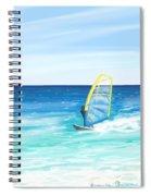 Windsurf Spiral Notebook