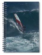 Windsurfer 2 Maui Spiral Notebook