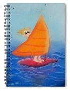 Windsurfer Dude Spiral Notebook