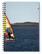 Windsurfing Spiral Notebook