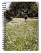 Windy And Cloudy Spiral Notebook