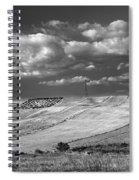 Windy At The Cereal Fields Spiral Notebook