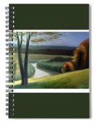 Windy Autumn Spiral Notebook