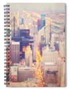 Windy City Lights - Chicago Spiral Notebook