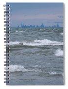 Windy City Skyline Spiral Notebook