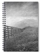 Windy Days At 3300 Meters Spiral Notebook
