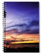 Windy Evening Spiral Notebook