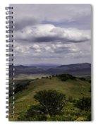 Windy Gap Looking East 2 Spiral Notebook