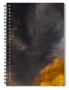 Windy Night Spiral Notebook